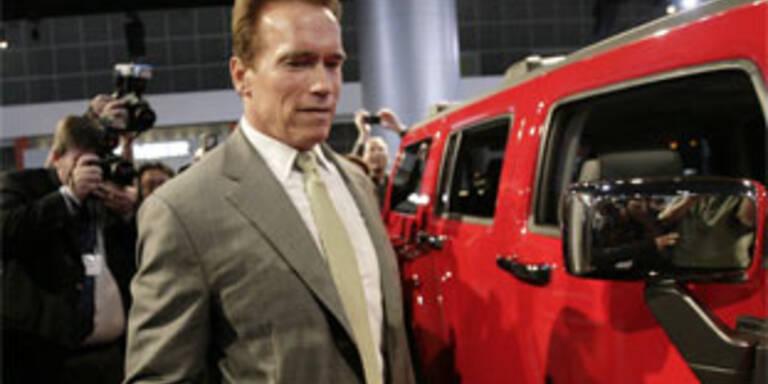 Bush verbietet Arnie den Klimaschutz