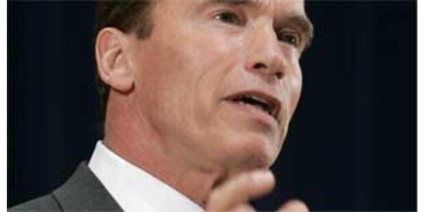 Schwarzenegger ruft zu Wasser-Sparsamkeit auf