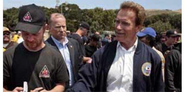 Schwarzenegger erbittet Hilfe gegen Waldbrände