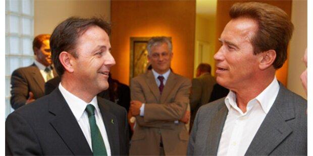 Berlakovich traf Arnold Schwarzenegger