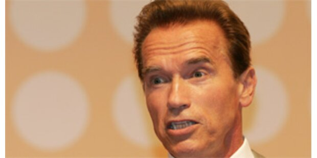 Schwarzenegger legt Veto gegen Homo-Ehe ein