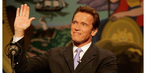 Schwarzenegger startet Amtszeit mit Gesundheits-Initative