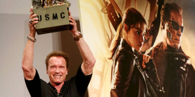 Schwarzenegger jetzt als Navi-Stimme