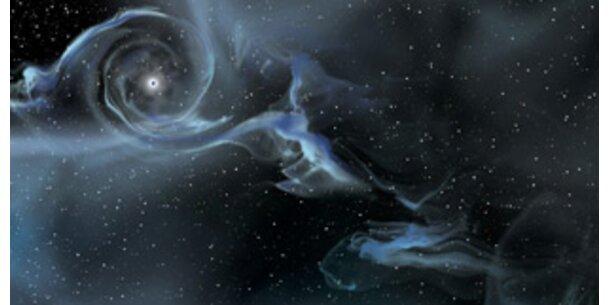 Kosmische Strahlung stammt aus Schwarzen Löchern