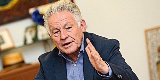 Josef Pühringer tritt am 6. April zurück