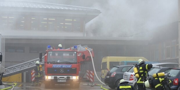 Giftige Chemie-Wolke über Frankfurt