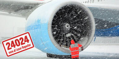 Schnee: Sperre der A21 und des Airports