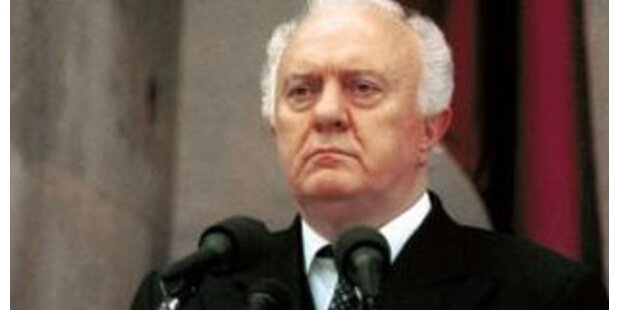 Schewardnadse kritisiert Gorbatschow