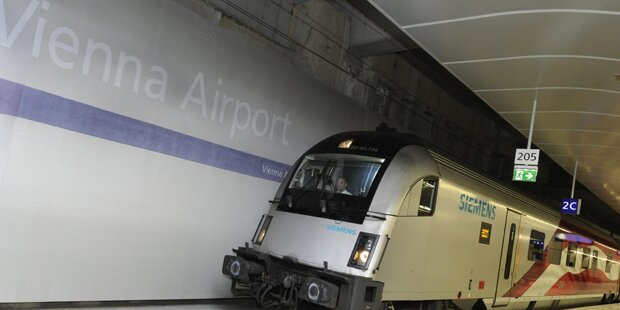 Alarmstufe Rot am Bahnhof Schwechat