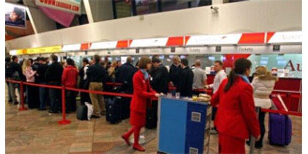 Flughafen Wien drittpünktlichster Airport Europas