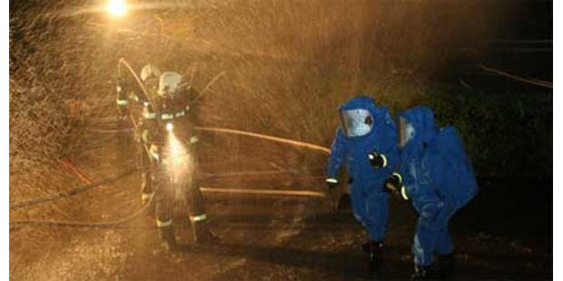 Chlorgas in Schwechater Bad ausgetreten