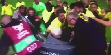 Schweden-Kicker crashen TV-Analyse