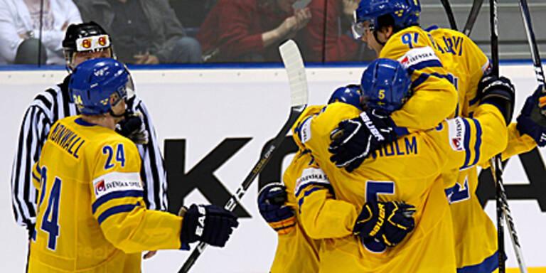 Schweden, Tschechien im Halbfinale