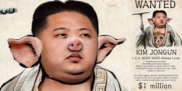 Internet lacht über irren Kim