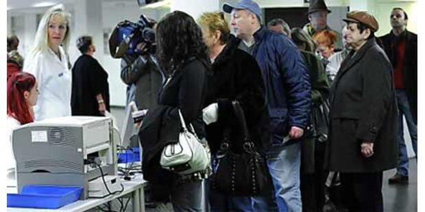 15.000 bei Impfung gegen Schweinegrippe