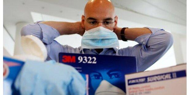 Grippemasken finden Verwendung