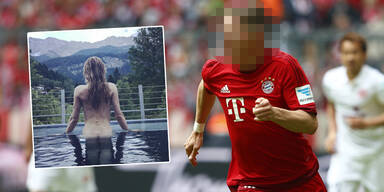 Sarah Brandner Bastian Schweinsteiger