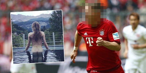 Ex-Freundin von Bayern-Legende zeigt sich nackt