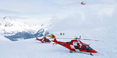 Schweiz: Acht Tote bei Lawinenabgängen