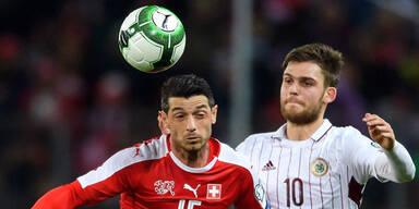 Schweiz zittert wegen Färöer-Spiel