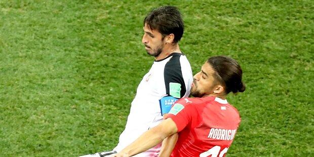 2:2 - Schweiz mit Remis ins Achtelfinale
