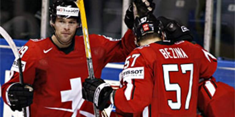 Schweiz fixiert Zwischenrunde