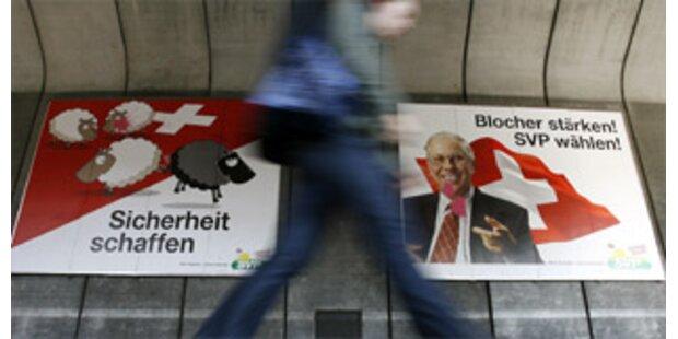 Polarisierender Wahlkampf in der Schweiz