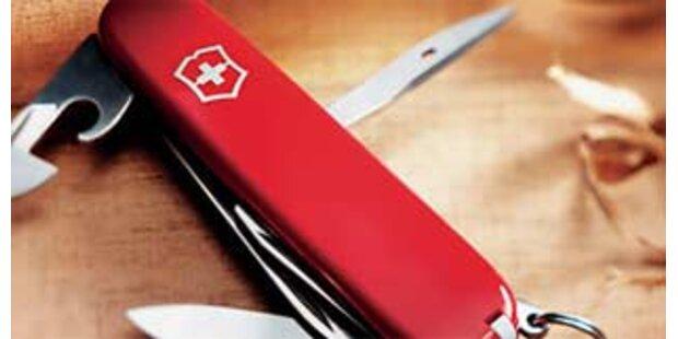Streit um Wappen auf dem Schweizer Messer