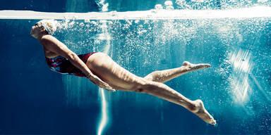 So schwimmen Sie sich schlank