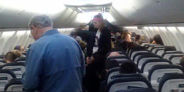 Im Flugzeug: Skorpion stach Passagierin
