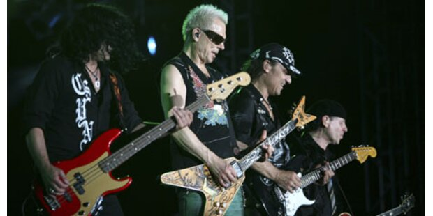 Scorpions-Plattencover sorgt für Eklat in London