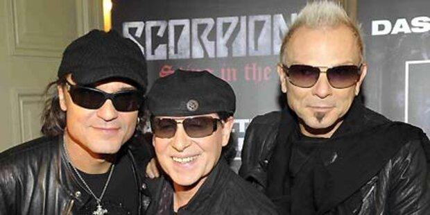 Scorpions starten Abschiedstournee