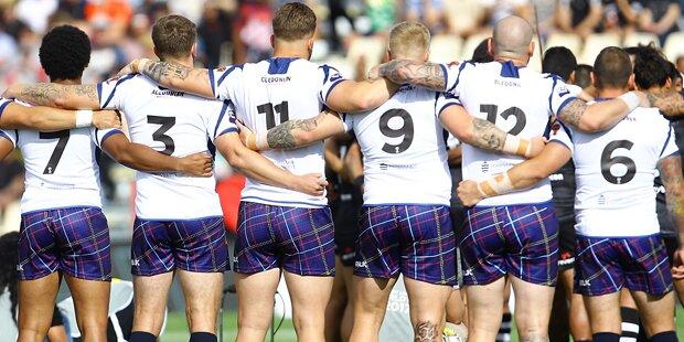 Schottische Rugby-Stars zu betrunken für Flug