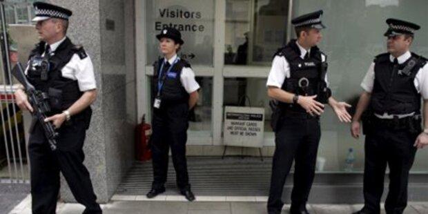 Scotland Yard fasst 12 Terrorverdächtige
