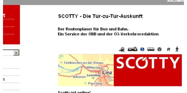 Scotty Routenplaner