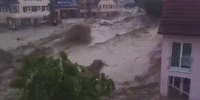 Gewitter sorgen für Schwere Schäden