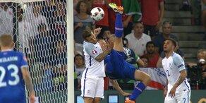 Highlights: England vs. Island