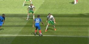 Highlights: Frankreich vs. Irland