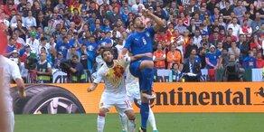 Highlights: Italien vs. Spanien