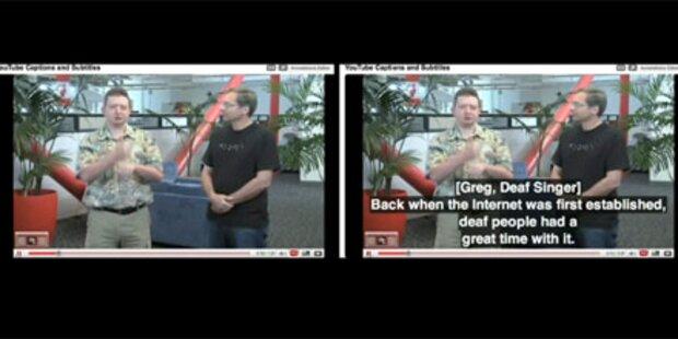 Automatische Untertitel für YouTube Vids