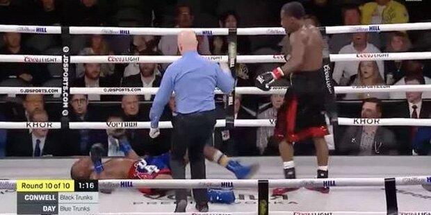 US-Boxer nach brutalem K. o. im Koma