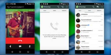 Kann WhatsApp schon telefonieren?