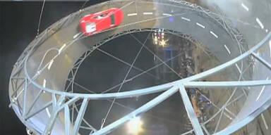 Looping-Weltrekord mit dem Auto geschafft