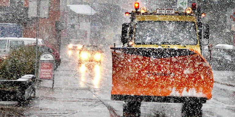 Tief Jonas bringt Schnee am Wochenende