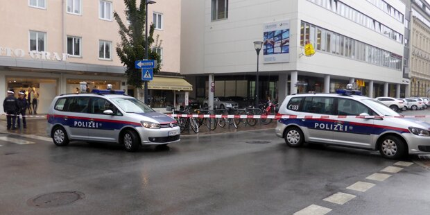 Bombendrohung gegen Klagenfurter Supermarkt