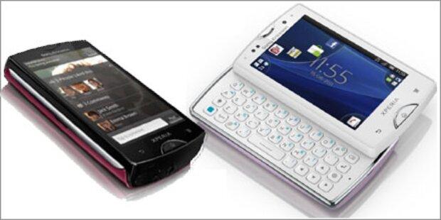 Xperia mini & Xperia mini pro mit HD-Cam