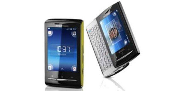 Beamer-Handy und drei neue Sony Ericsson