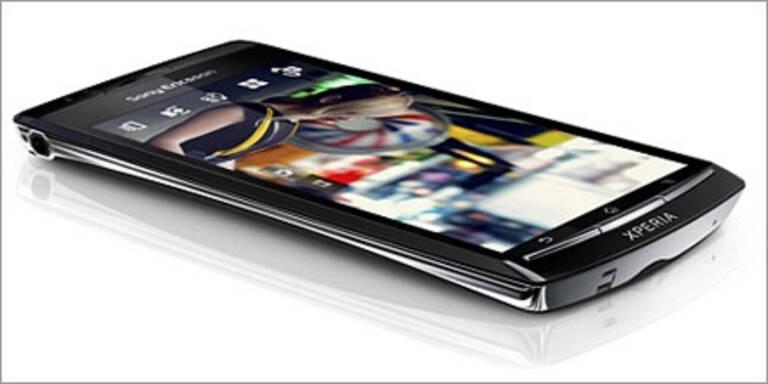Sony Ericsson Xperia Arc bei uns gestartet