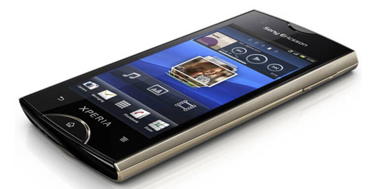 Sony Ericsson setzt voll auf Smartphones