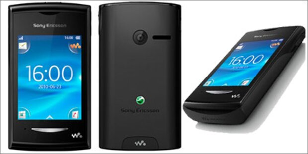 Erstes Walkman-Handy mit Touchscreen